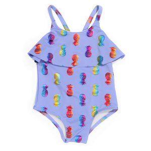 NWT PENELOPE MACK Infant 1Piece Pineapple Swimsuit
